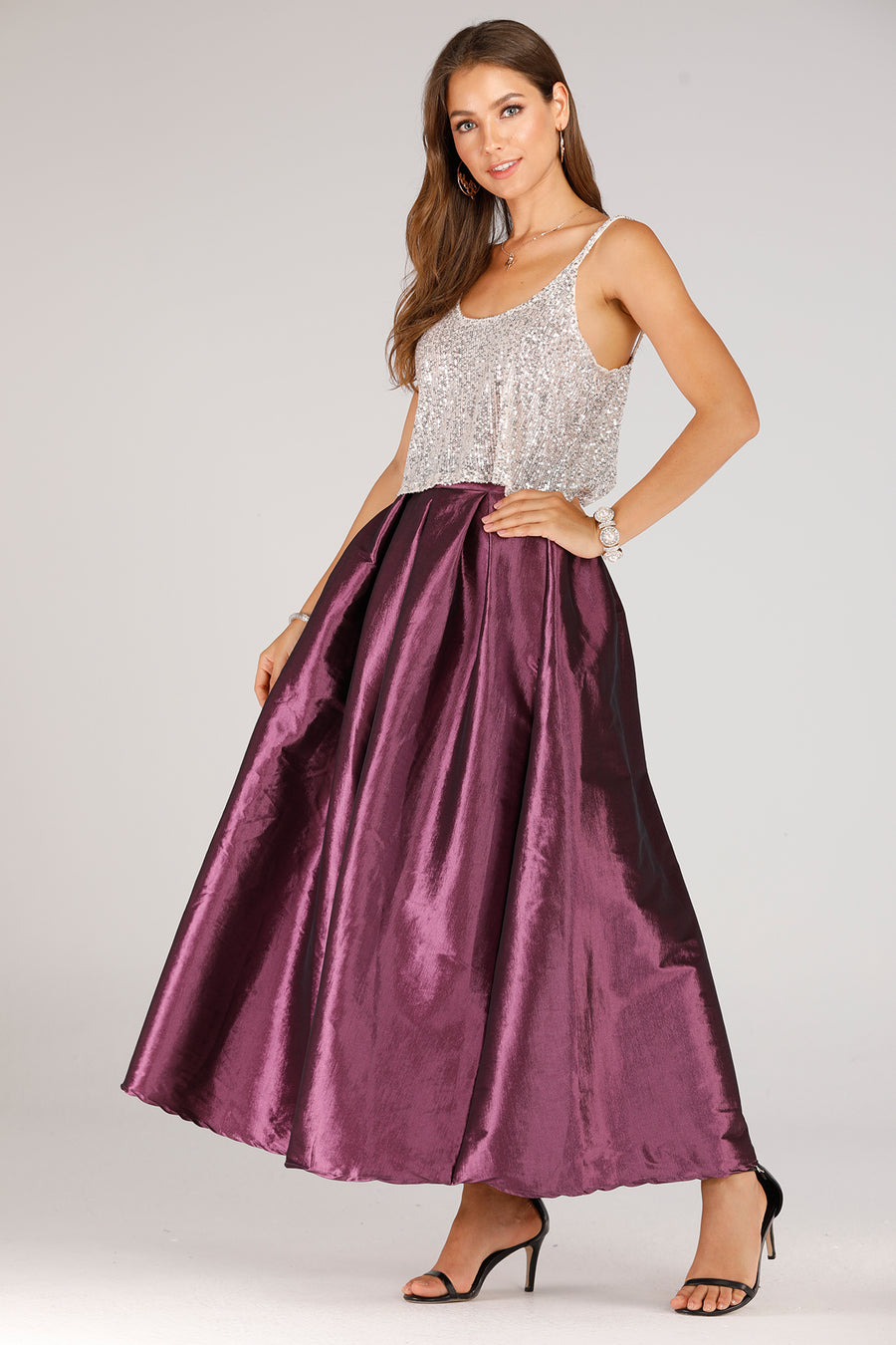 Mantra Pakistan Long Tulle Skirt | BOTTOMS