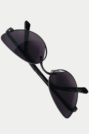 Mantra Pakistan METAL THIN FRAME CAT EYE SUNGLASSES | ACCESSORIES
