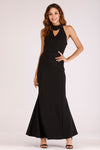 EVENING DRESS WITH CHOKER
