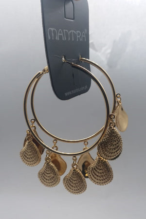 Mantra Pakistan Hoop With Shells | ACCESSORIES
