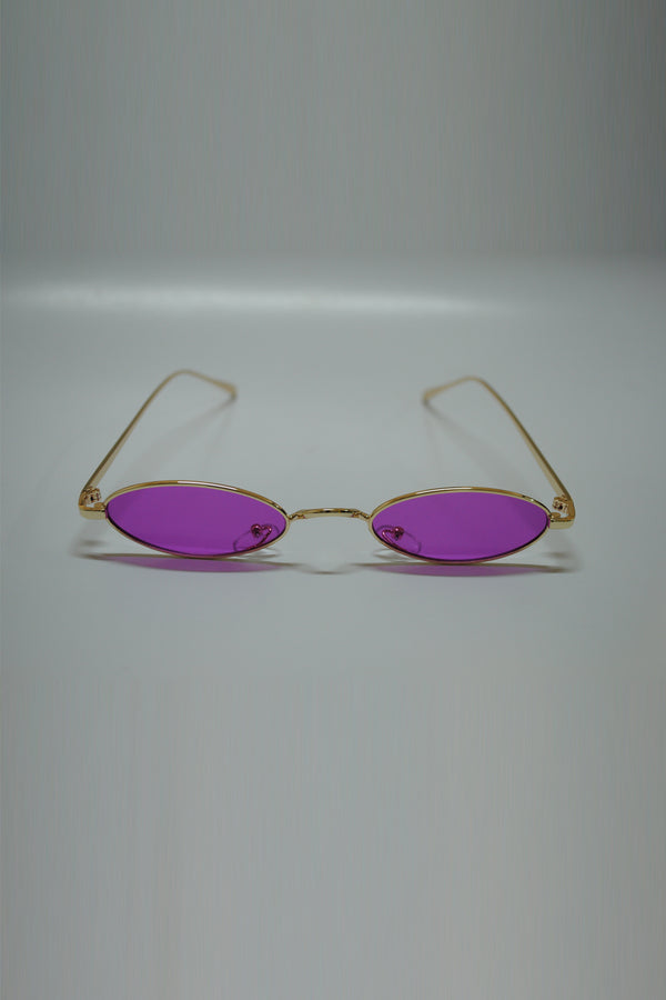 Purple Thin Glasses