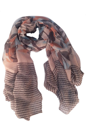 Mantra Pakistan Cotton Printed Scarf | ACCESSORIES