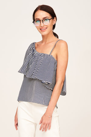 Mantra Pakistan ONE SHOULDER TOP | TOPS
