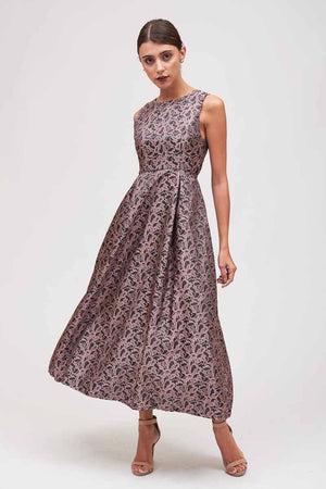 Mantra Pakistan JACQUARD LONG DRESS | DRESS