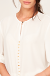BLOUSE WITH GOLDEN BUTTONS