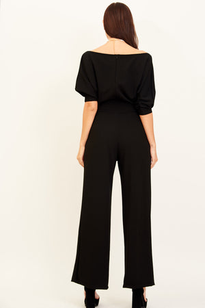 Mantra Pakistan OFF SHOULDER JUMPSUIT | DRESS