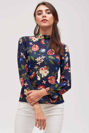 Mantra Pakistan FLORAL PRINTED TOP | TOPS