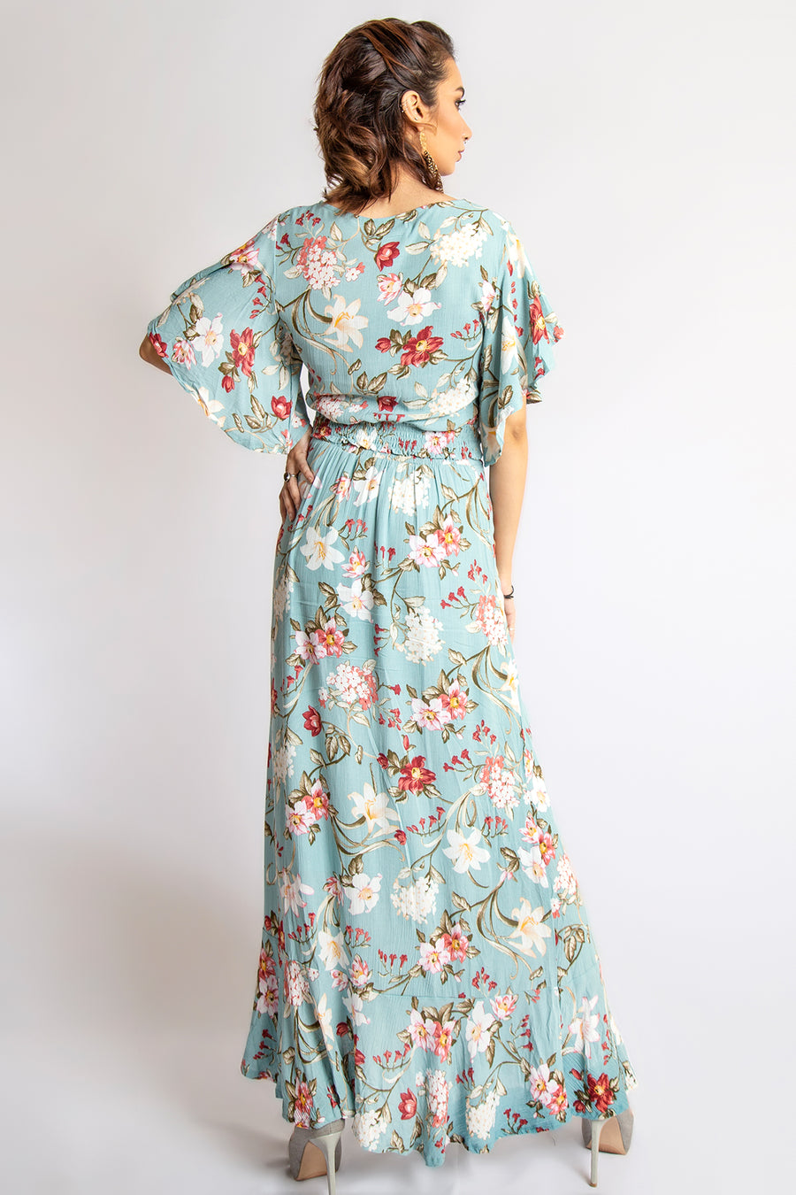 Mantra Pakistan FLORAL PRINTED DRESS | Western Wear