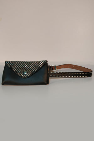 Mantra Pakistan STUDDED WALLET BELT | ACCESSORIES