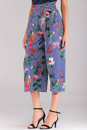 Mantra Pakistan PRINTED PANTS | BOTTOMS