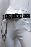 RIVETS BELT WITH SIDE CHAIN
