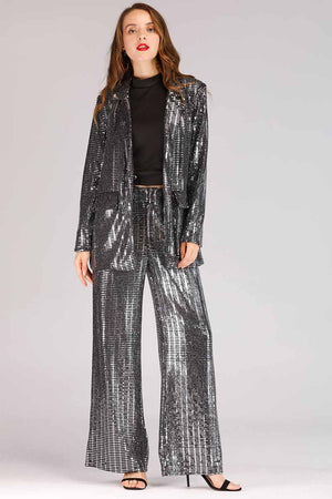 SHINY SEQUINS SUIT