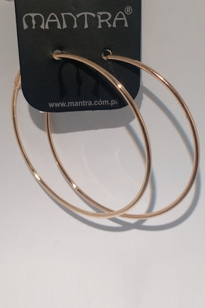 Mantra Pakistan Earring Hoops Large | ACCESSORIES