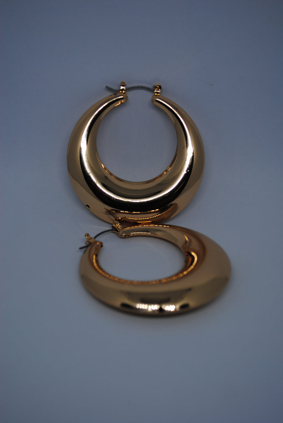 Mantra Pakistan Chunky Circle Earrings | ACCESSORIES