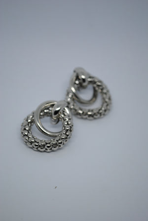 Mantra Pakistan Earrings with Silver Rings | ACCESSORIES