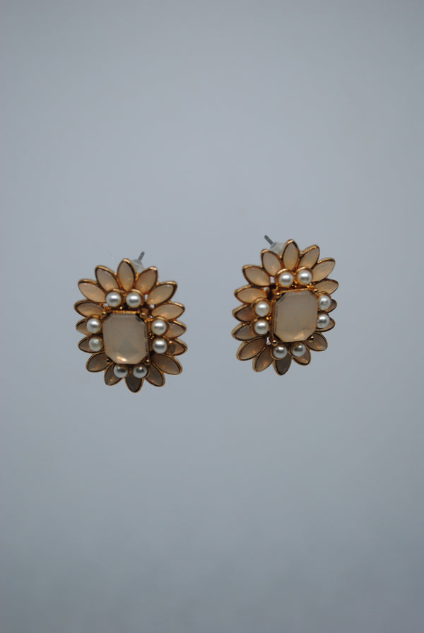 Mantra Pakistan Flower Shaped Earrings | ACCESSORIES