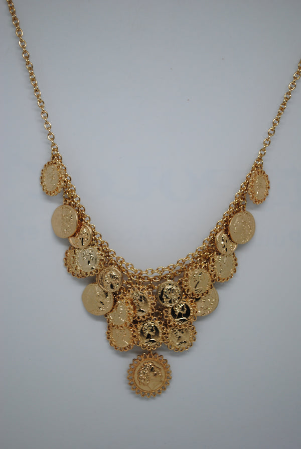 Mantra Pakistan Multi Coin Necklace | ACCESSORIES