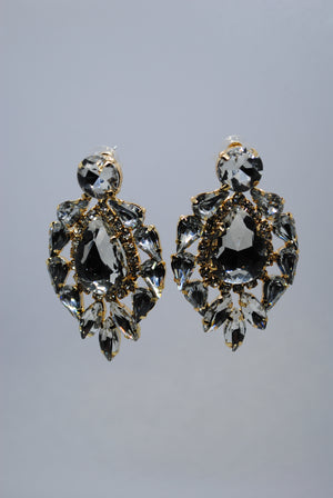 Mantra Pakistan Diamond Tears Earrings | ACCESSORIES