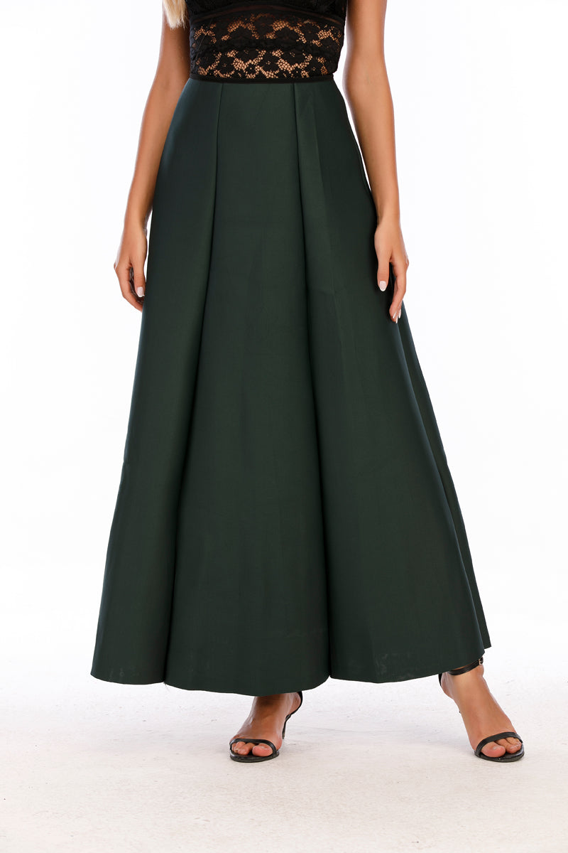 Mantra Pakistan Green Scuba Skirt |
