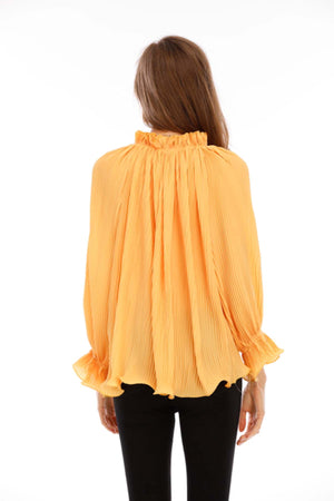 Mantra Pakistan Ruffled Top | Western Wear