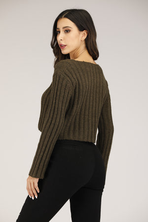 Mantra Pakistan V Neck Sweater | OUTERWEAR