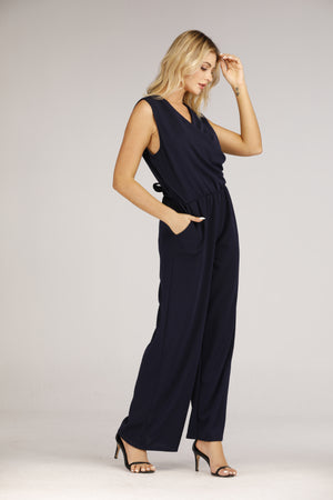 Mantra Pakistan Sleeveless Jumpsuit | DRESS