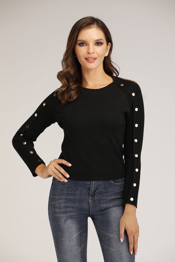 Mantra Pakistan Black Sweater | OUTERWEAR