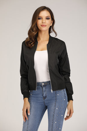 Mantra Pakistan Black Bomber Jacket | OUTERWEAR