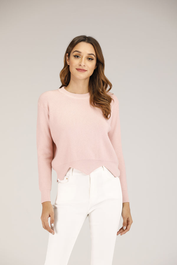 Mantra Pakistan Pink Sweater | OUTERWEAR