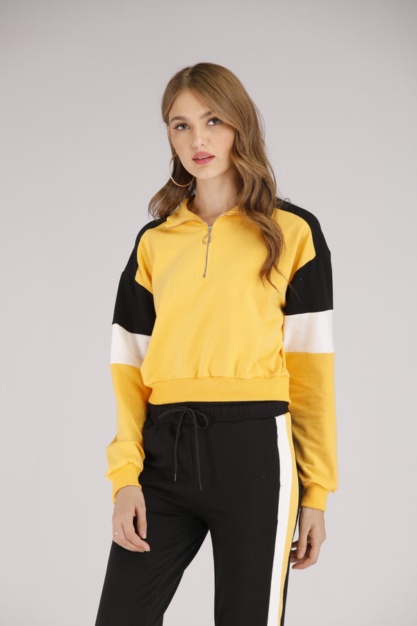 Yellow Pullover Hoodie