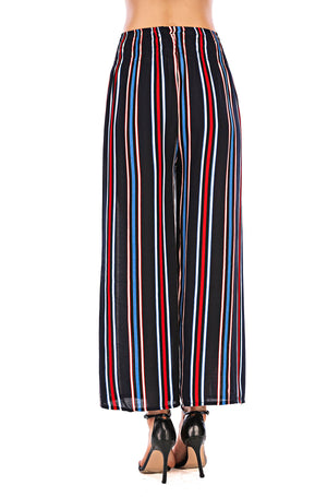 Red  & Blue Striped Trouser