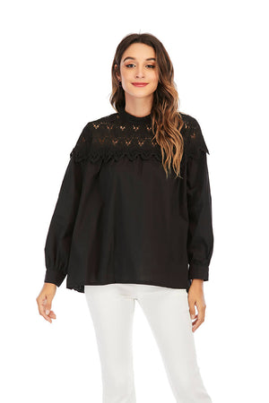 Mantra Pakistan LACE YOKE TOP |