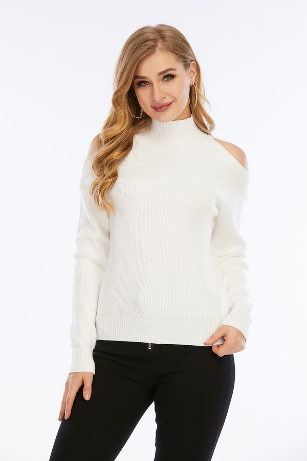 Mantra Pakistan Cold Shoulder sweater | Western Wear
