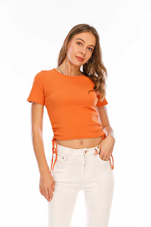 Mantra Pakistan Drawsting Top | Western Wear