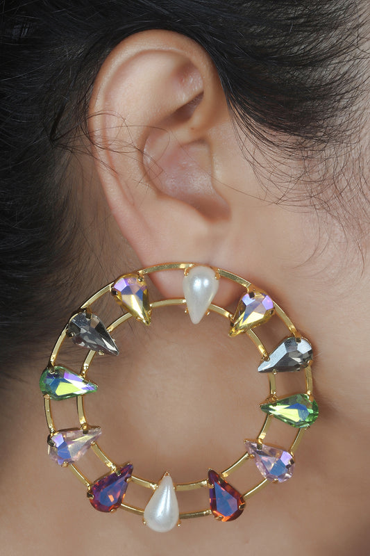 Jolie: Rainbow Hoops