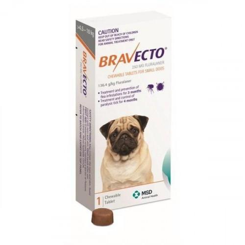Bravecto Chews For Small Dogs 10-22lbs (4.5-10kg)
