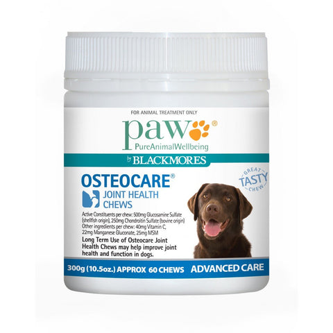 Blackmores Paw Osteocare Joint Health Chews Dogs