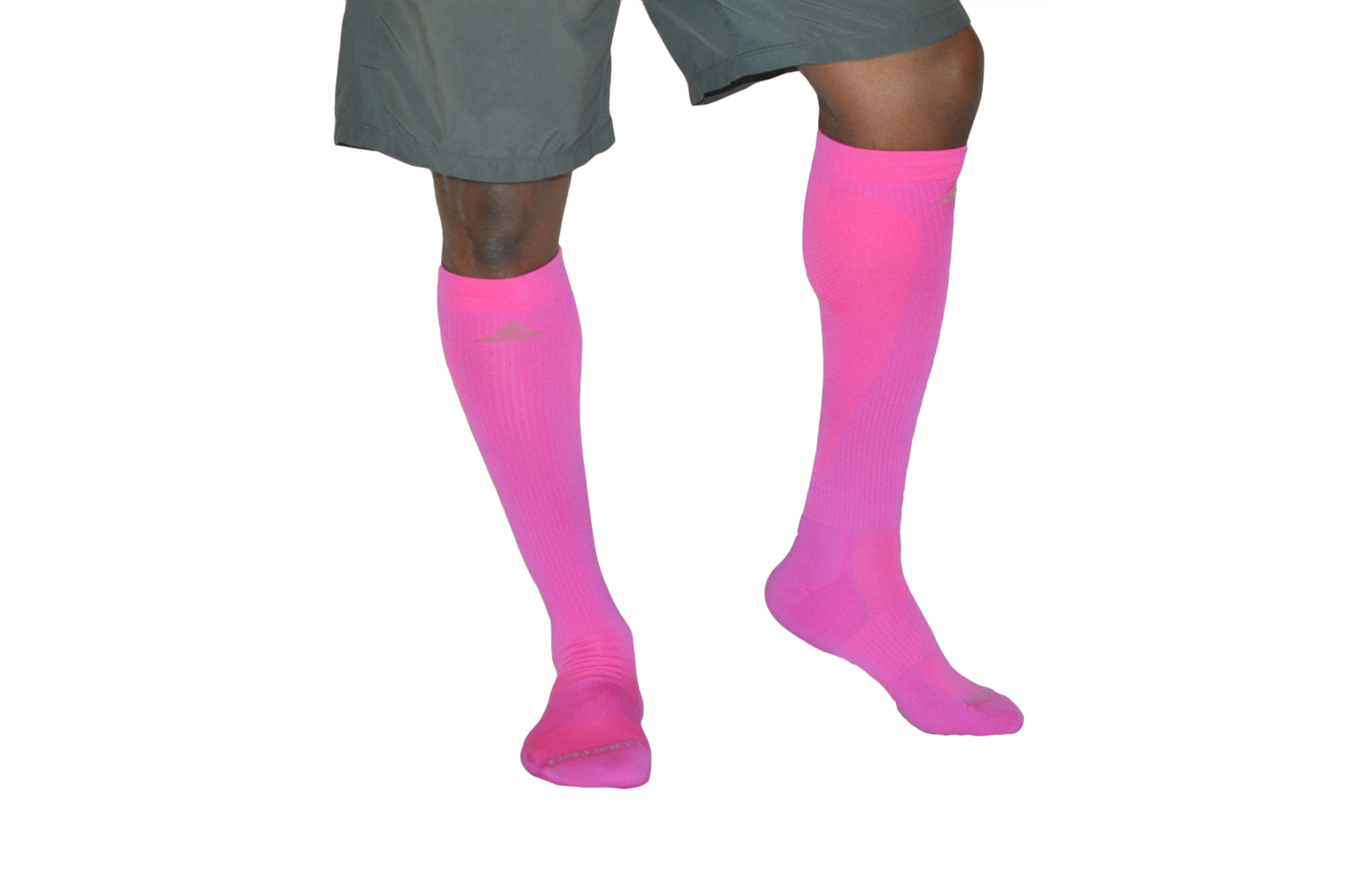 Men's Compression Socks - Optic Pink