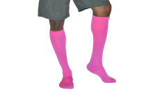 Load image into Gallery viewer, Men's Compression Socks - Optic Pink