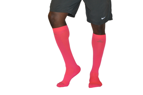 Men's Compression Socks - Vermillion