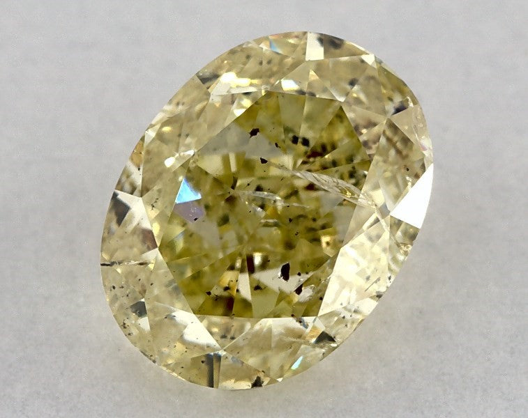Suokko Timantit | Ovaali | 0,94 ct | YELLOW I2 | 254707
