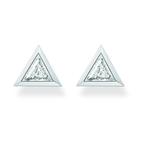 Thomas Sabo korvakorut | Triangle White