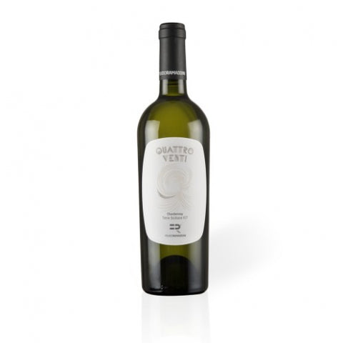 FEUDO RAMADDINI QUATTROVENTI IGT TERRE SICILIANE CHARDONNAY-CATARRATTO 2015 - siciliantasty