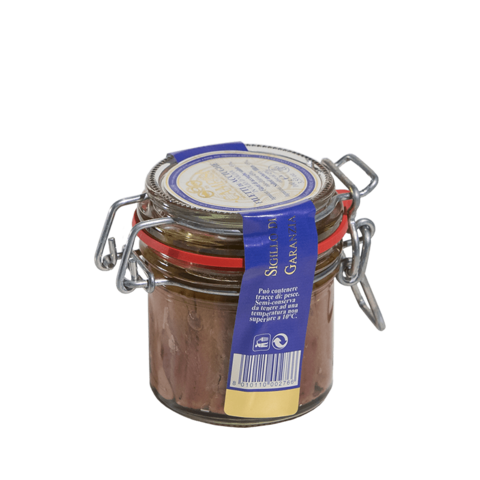 FILETTI DI ACCIUGHE EXTRA VASO ERM. 100 GR - siciliantasty