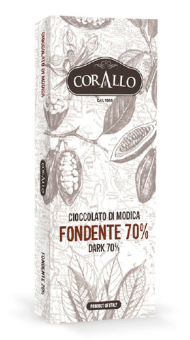 Cioccolato di Modica Fondente al 70% - siciliantasty