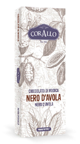 Cioccolato di Modica Nero D'Avola - siciliantasty