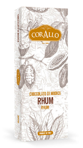 Cioccolato di Modica Rhum - siciliantasty