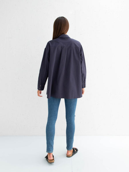 Chalk Sophie Shirt | Navy