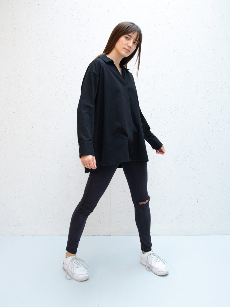 Chalk Sophie Shirt | Black