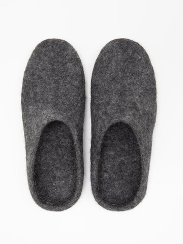 Chalk Bella Slipper Charcoal